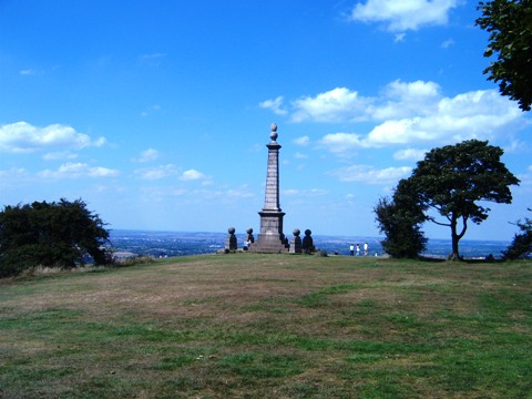 Coombe Hill monument