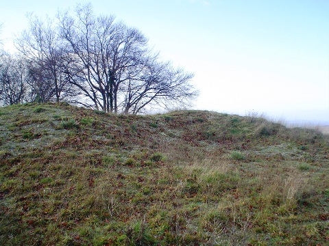 Neolithic burial mound.